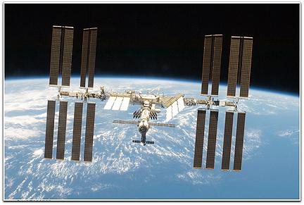 ISS photo (NASA-2009)