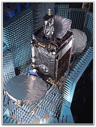 MEASAT 3a undergoing testing @ Orbital