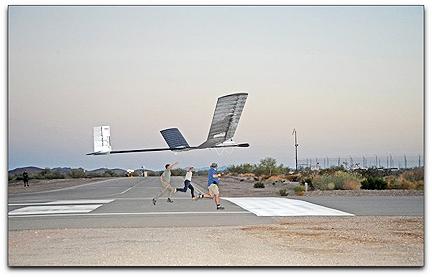 QinetiQ's Zephyr UAV