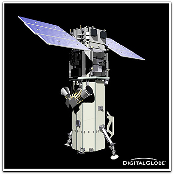 WorldView-2 satellite (DigitalGlobe)