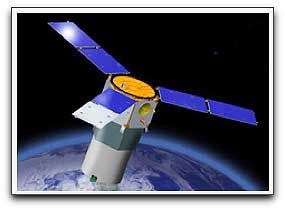 TacSat-3 satellite, artist concept (SMC)