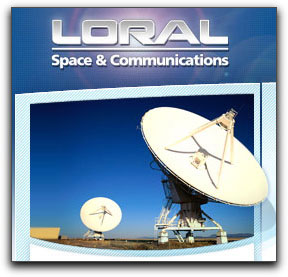 Loral Space & Communications logo + graphic