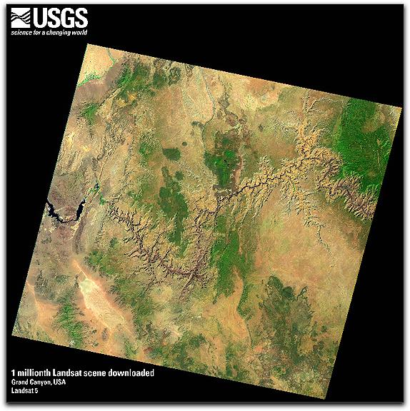 USGS Grand Canyon scene