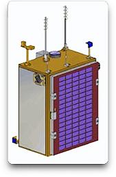 SunSpace' Sumbandilasat satellite