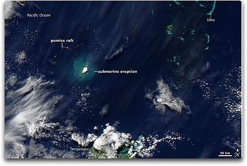 Tonga eruption
