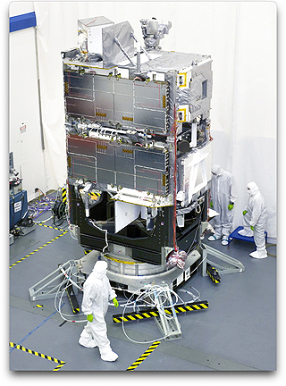 STSS satellites in integration (NGC)