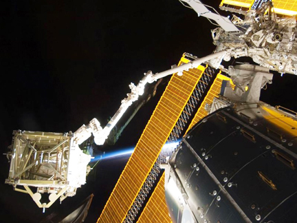 ISS Canadarm2 S6 truss Solar Panels (NASA)