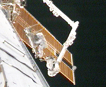3rd spacewalk for STS-119