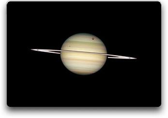 Saturn's four moon