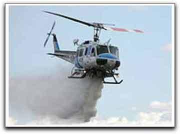 SkyTrac firefighting chopper