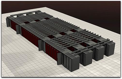 Sandia Labs' Red Storm supercomputer