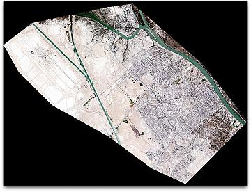 DigitalGlobe CitySphere preview of Basra, Iraq