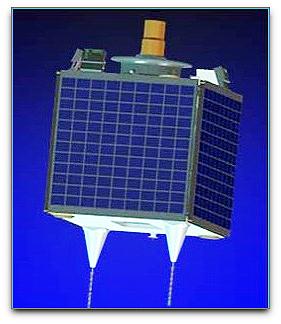 NigeriaSat-1 satellite (SSTL)