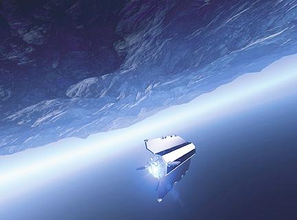 GOCE in space