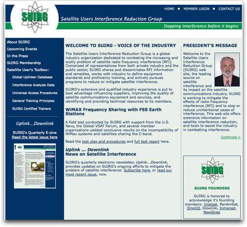 SUIRG homepage