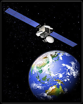MEASAT-3 satellite