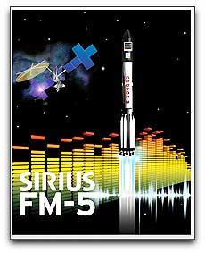 Sirius FM-5 satellite logo