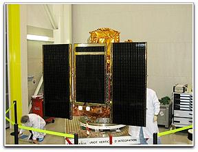 EADS Astrium THEOS satellite