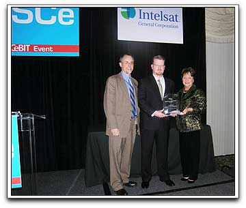 CapRock receiving ISCe 2009 award