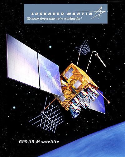 Lockheed Martin's GPS IIR-M satellite