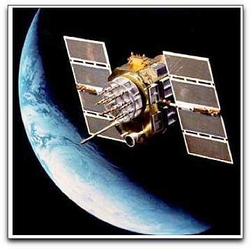 Chinese COMPASS satellite