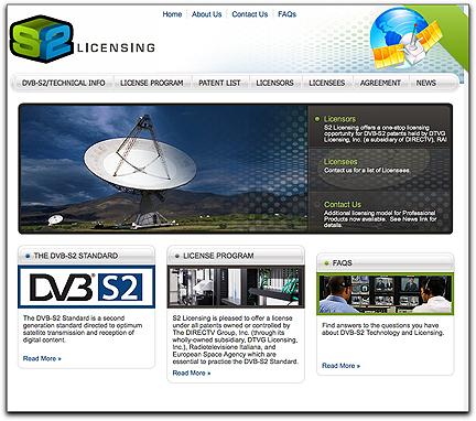 S2 Licensing homepage