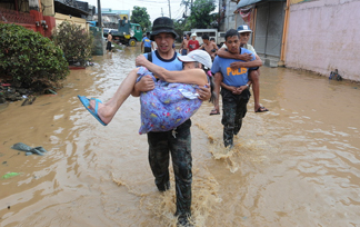 Image result for people helping in disaster