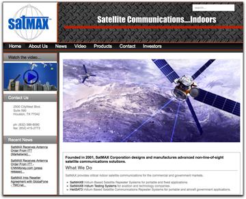 SatMax homepage