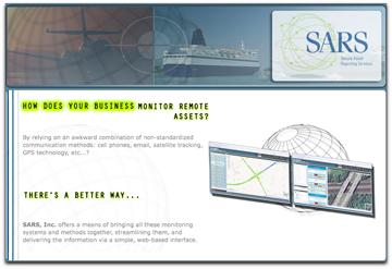 SARS homepage