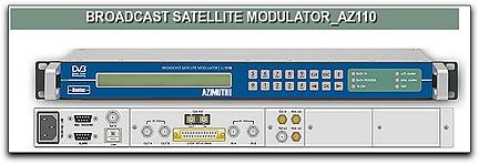 Newtec AZ110 satellite modulator