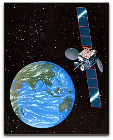 AsiaSat 3S satellite