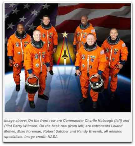 STS-129 crew