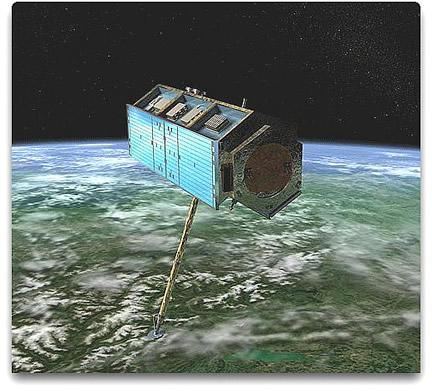 TerraSAR-X satellite