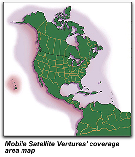 MSV's coverage area map
