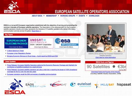 ESOA homepage