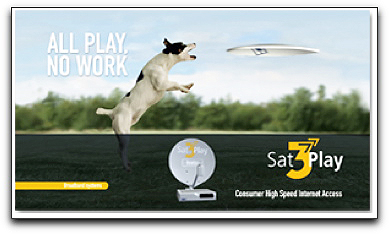 Newtec's Sat3Play graphic