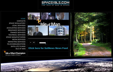 SpaceIsle.com homepage