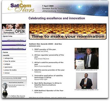 SatCom Stars