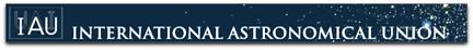 IAU banner logo