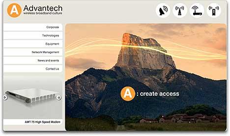 Advantech new website