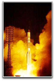 ILS Nimiq 5 launch photo