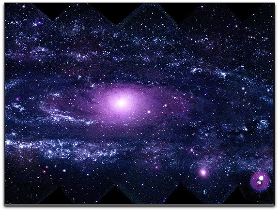 Ultraviolet M31 Andromeda NASA Swift