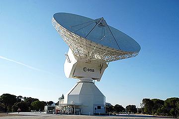 ESA 35m dish in Spain