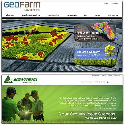 GeoFarm + Agri-Trend banners