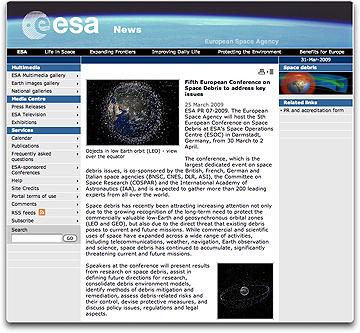 ESA signing