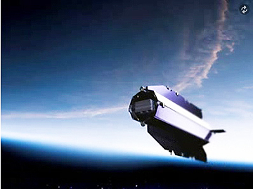 GOCE satellite (from animation)