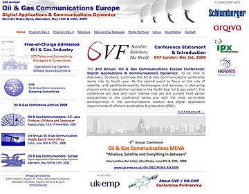 GVF Oil & Gas Conference page