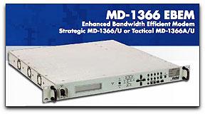 ViaSat MD-1366 EBEM modem