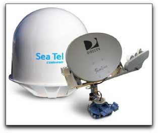 Sea Tel Cobham DTV04 antenna
