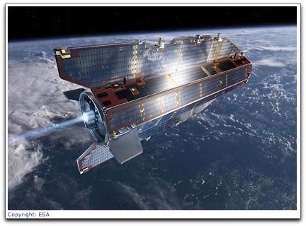 ESA's GOCE satellite